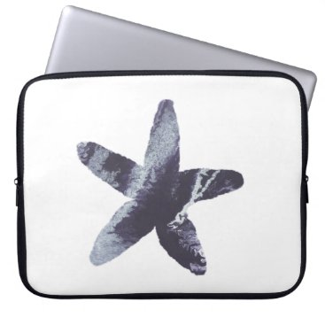 Beach Themed Starfish Laptop Sleeve