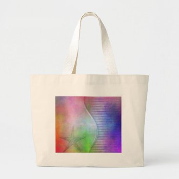Beach Themed starfish large tote bag