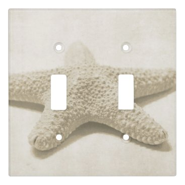 Beach Themed Starfish Light Switch Cover