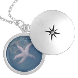 Starfish Locket Necklace