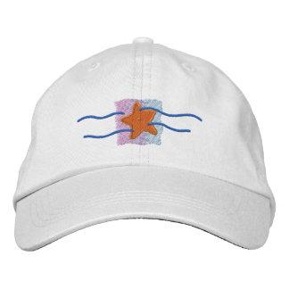 Starfish Logo Embroidered Baseball Hat