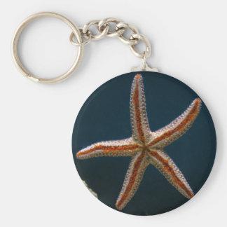 Starfish Love Keychain