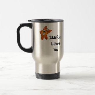 Starfish Loves You Travel Mug
