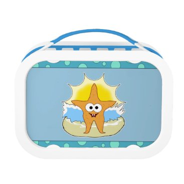 Beach Themed Starfish Lunch Box