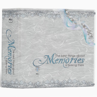 Starfish Memory Book 3 Ring Binder
