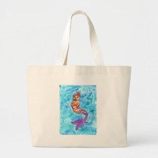 Starfish MerCat Canvas Bag