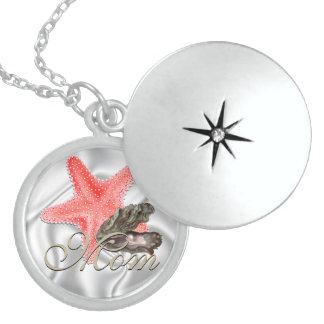 Starfish Mother's Day  Memory Necklace
