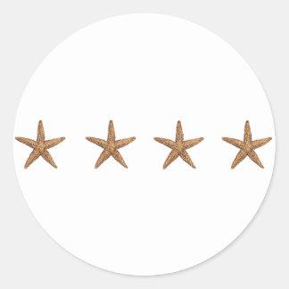 Starfish - Northern Sea Star Classic Round Sticker