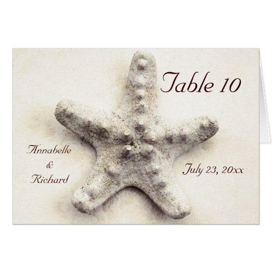 starfish - ocean whisper - place card