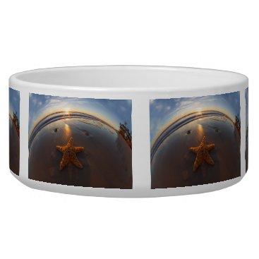 Beach Themed Starfish on Beach Bowl
