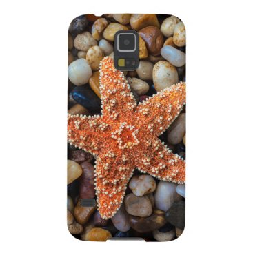 USA Themed Starfish On Rocks Case For Galaxy S5