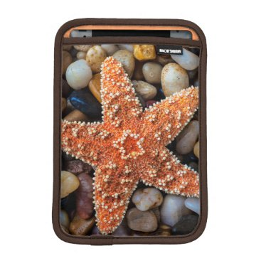 USA Themed Starfish On Rocks Sleeve For iPad Mini