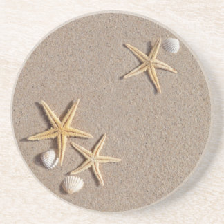 Starfish on the Beach coasters