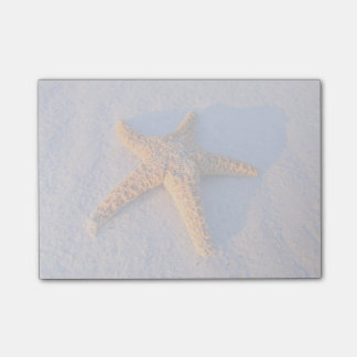 Starfish On White Sand Post-it® Notes