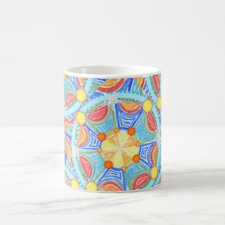 Starfish & Orange Slices Mandala Mug