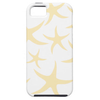 Starfish Pattern in Pastel Yellow and White. iPhone 5 Covers