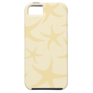 Starfish Pattern in Pastel Yellow. iPhone 5 Cover