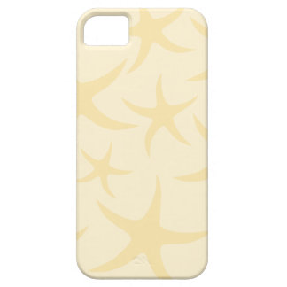 Starfish Pattern in Pastel Yellow. iPhone 5 Cases