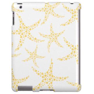 Starfish Pattern in Yellow and White.