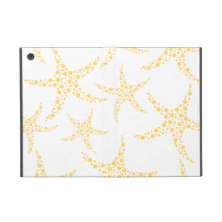 Starfish Pattern in Yellow and White. Case For iPad Mini