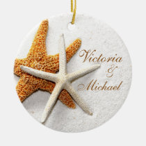 Starfish Personalized Ornament