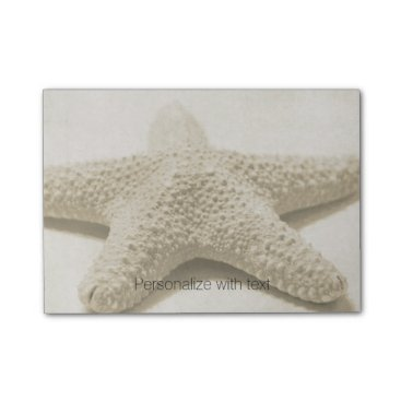 Beach Themed Starfish Personalized Post-it Notes