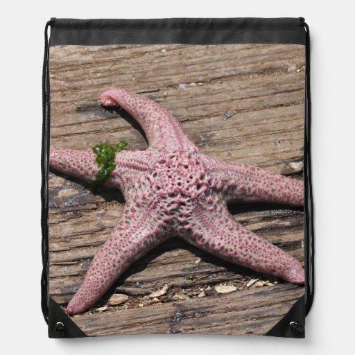 Starfish Drawstring Bags