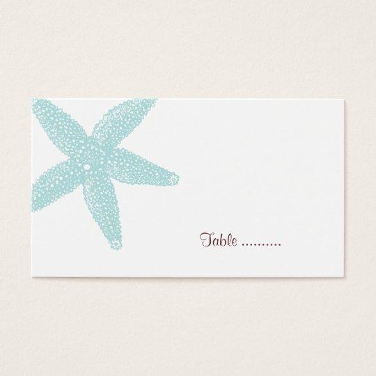 Starfish Place Card