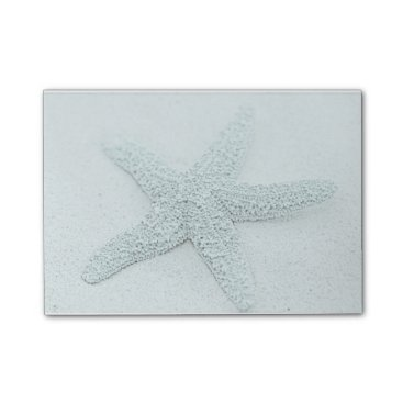 Beach Themed Starfish Post-it Notes