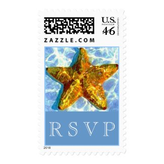 Starfish Postage MED stamp