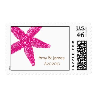 Starfish Postage Stamp stamp