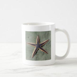 Starfish Purple sea star on beach Coffee Mug