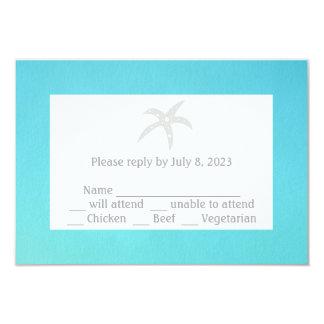 Starfish Rsvp Respond Cards