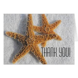 Starfish Sand Beach Ocean Theme Card