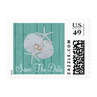 Starfish Sand Dollars Stamp