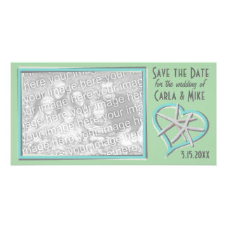 Starfish Save the Date Photo Card