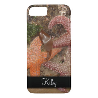 Starfish/Sea Stars in Cannon Beach, OR, 4 Name iPhone 7 Case