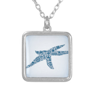 Starfish Silver Plated Necklace