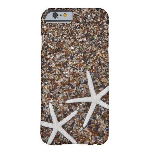 Starfish skeletons on Glass Beach iPhone 6 Case