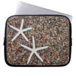 Starfish skeletons on Glass Beach Computer Sleeves