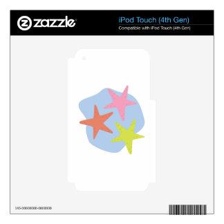 Starfish iPod Touch 4G Skin