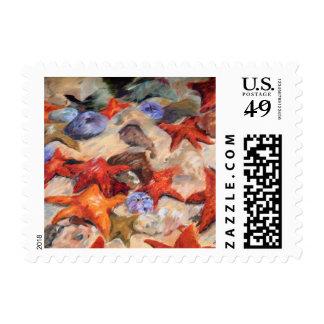 Starfish - Starry Sea Stamp