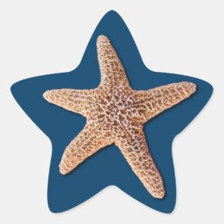 Starfish Sticker - Navy