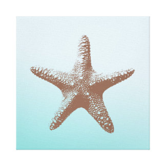 Starfish Stretched Canvas Print