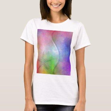 Beach Themed starfish T-Shirt