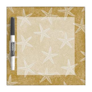 Starfish Tan Sand Dry-Erase Board