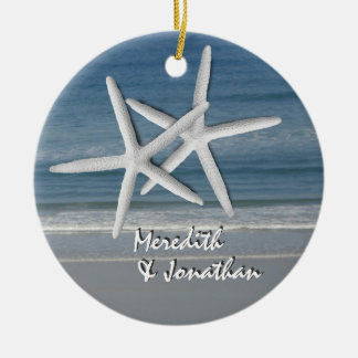 Starfish Together At Christmas Ornament, 2