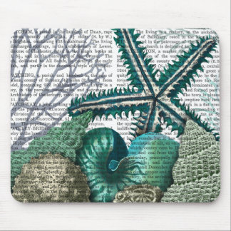 Starfish Under the Sea Mouse Pad
