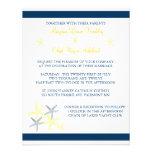 Starfish Wedding Invite