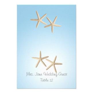 Starfish Wedding Seating Place Card